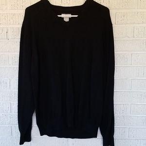 4/$25 ❤Black Vneck sweater
